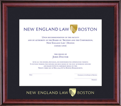 New England Law | Boston Bookstore - Framing Success Classic Diploma ...