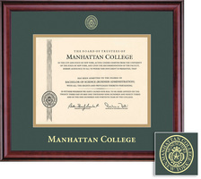 Framing Success Classic Diploma Frame, Double Matted in a Burnished Cherry Finish