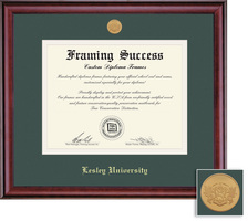 Framing Success Classic Mdl Diploma Frame, Double Matted in Burnished Cherry Finish