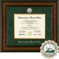 Church Hill Classics Presidential Diploma Frame.  Associates Bachelors (Online Only)