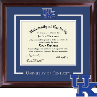 Church Hill Classics Spirit Diploma Frame. Bachelors & Masters