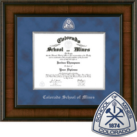 Church Hill Classics Presidential Diploma Frame. Paper Display Diploma Bachelors, Masters, PhD