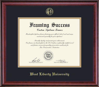 West Liberty University Bookstore - Framing Success Classic Diploma ...