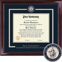 Church Hill Classics Showcase Diploma Frame Law. (Online Only)