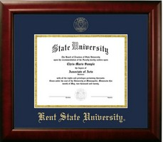 Kent State University Diploma Frame campus photo College Degree Certificate Gift