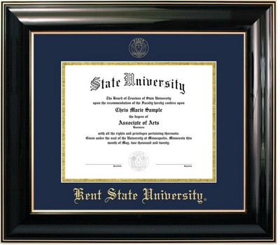 Jostens Classic Diploma Frame. Masters, PhD