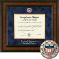 Church Hill Classics Presidential Diploma Frame.  Divinity (Online Only)