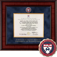 Church Hill Classics Presidential Diploma Frame Veterinary Med (Online Only)