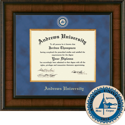 Church Hill Classics Presidential Diploma Frame.  Bachelors, Masters, PhD (Online Only)