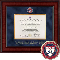 Church Hill Classics Presidential Diploma Frame Communication (Online Only)