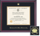 Diploma (1215Present) with Black and Gold Double Mat in Elite