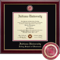 Church Hill Classics Masterpiece Diploma Frame.  Kelley School of Business (Online Only)