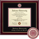 Church Hill Classics Masterpiece Diploma Frame.  College of Arts and Sciences (Online Only)