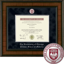 Church Hill Classics Presidential Diploma Frame Medicine. For diplomas 2011 to Current (Online Only)