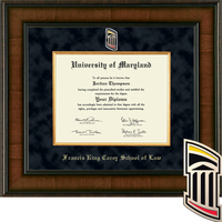 Church Hill Classics Presidential Diploma Frame, Law (Online Only) Spring 2017 to Present