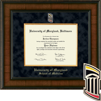 Church Hill Classics Presidential Diploma Frame, Medicine (Online Only)  Spring 2017 to Present