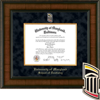 Church Hill Classics Presidential Diploma Frame, Dentistry (Online Only) Spring 2017 to Present