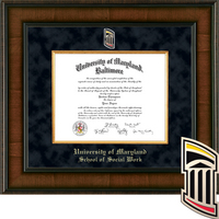 Church Hill Classics Presidential Diploma Frame, Social Work (Online Only) Spring 2017 to Present
