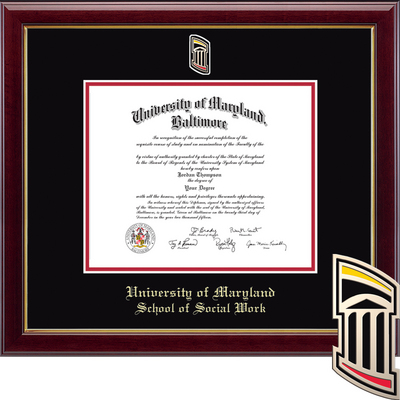Church Hill Classics Masterpiece Diploma Frame Social Work (Online Only) Spring 2017 to Present