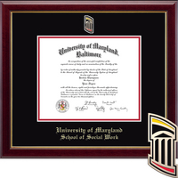 Church Hill Classics Masterpiece Diploma Frame, Social Work (Online Only) Spring 2017 to Present