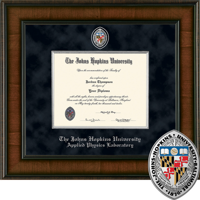 Church Hill Classics Presidential Diploma Frame.  Applied Physics Laboratory (Online Only)
