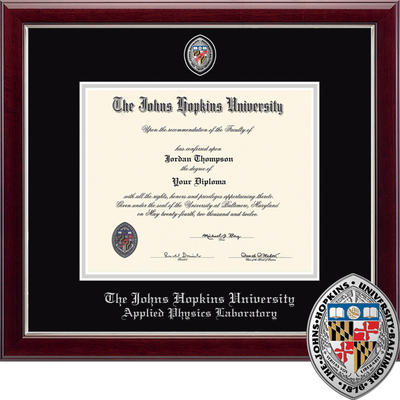 Church Hill Classics Masterpiece Diploma Frame. Applied Physics Laboratory (Online Only)