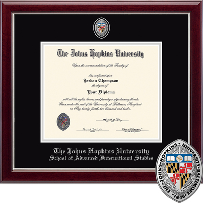 Church Hill Classics Masterpiece Diploma Frame Adv. Intl. Studies (Online Only)