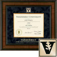 Church Hill Classics Presidential Diploma Frame. Owen Graduate School of Management (Online Only)