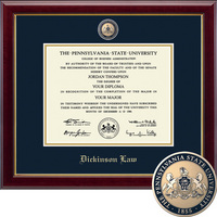 Church Hill Classics Masterpiece Diploma Frame. Dickinson Law