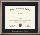Framing Success Diploma Frame, Single Mat, High Gloss Cherry Finish, Gold Inner Bevel & Slim Contour