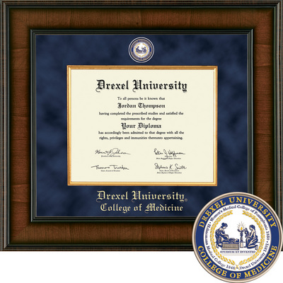 Church Hill Classics Presidential Diploma Frame  Medical