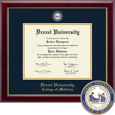 Church Hill Classics Masterpiece Diploma Frame  Medical (Online Only