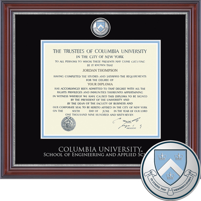 Church Hill Classics Masterpiece Diploma Frame Engin. & App. Science (Online Only)