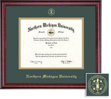 Framing Success Classic Diploma Frame, Double Mat in a Rich Burnished Cherry Finish