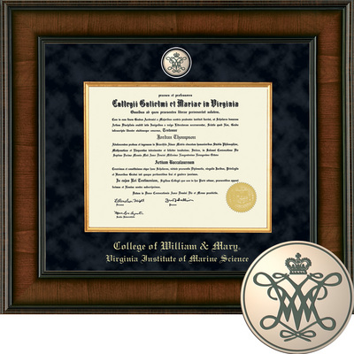 Church Hill Classics Presidential Diploma Frame. Marine Science (Online Only)