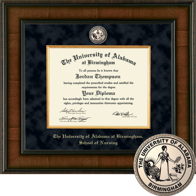 Church Hill Classics Presidential Diploma Frame Nursing Bachelors Online Only The Uab Blazer Bookstore
