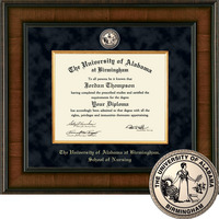 Church Hill Classics Presidential Diploma Frame.  Nursing Bachelors, Masters, PhD (Online Only)