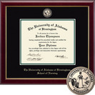 Church Hill Classics Masterpiece Diploma Frame. Nursing Bachelors, Masters, PhD (Online Only)
