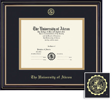 Framing Success Prestige (Black Finish) or Windsor (Cherry Finish) Diploma Frame. Bachelors, Masters