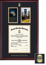 Framing Success Classic Diploma Frame, Photos Frame, Double Mat in a Rich Burnished Cherry Finish