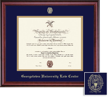 Framing Success Classic Law Diploma Frame, Double Mat in a Rich Burnished Cherry Finish