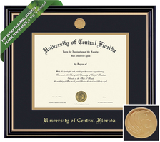 Framing Success Prestige Diploma Frame. Masters. PhD