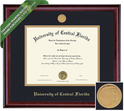 Framing Success Classic Diploma Frame. Masters, PhD