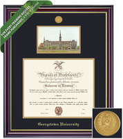 Framing Success Windsor Diploma and Litho Frame. Bachlors, Masters
