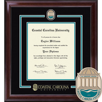 Church Hill Classics Showcase Diploma Frame. Bachelors & Masters