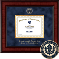 Church Hill Classics Presidential Certificate Frame. Dental Medicine. Certificate Only.