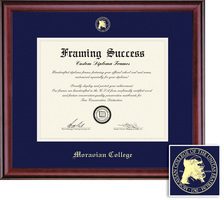 Framing Success Prestige Diploma, Double Mat in a Rich BurnishedCherry Finish