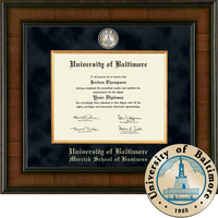 Church Hill Classics Presidential Diploma Frame.  Merrick School of Business (Online Only)