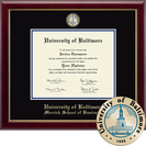 Church Hill Classics Masterpiece Diploma Frame. Merrick School of Business (Online Only)