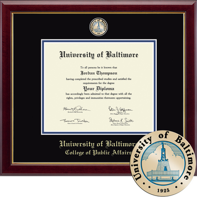 Church Hill Classics Masterpiece Diploma Frame. College of Public Affairs (Online Only)